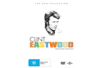Clint Eastwood Four movie Collection Box Set DVD Region 4