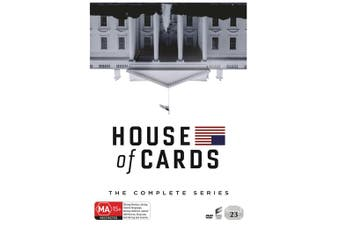 House of Cards The Complete Series Box Set DVD Region 4