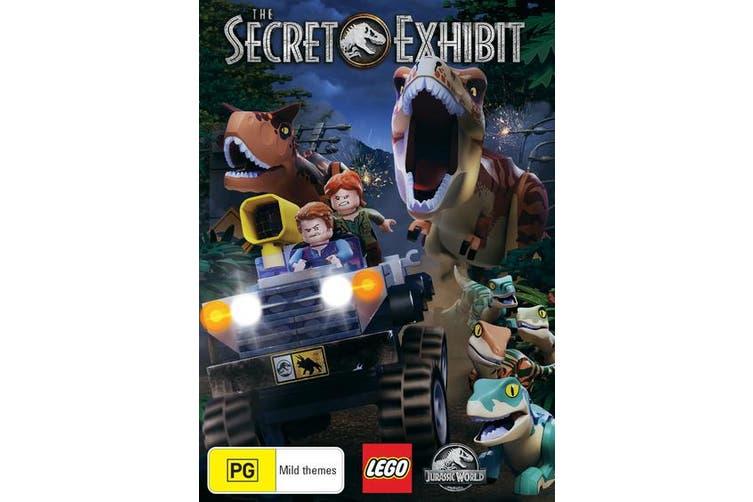 LEGO Jurassic World The Secret Exhibit DVD Region 4