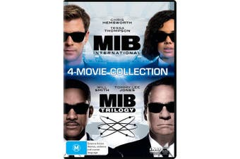 Men in Black 1-4 Box Set DVD Region 4