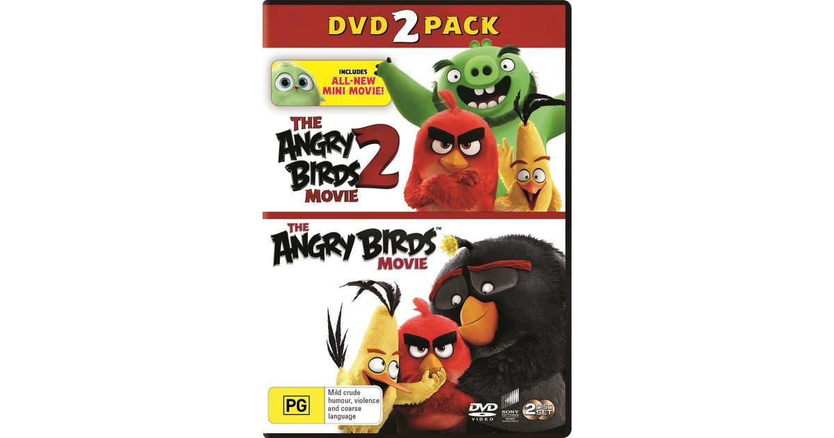 The Angry Birds Movie 1 2 Dvd Region 4 Kogan Com