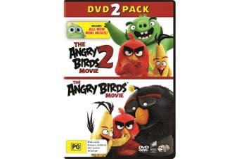 The Angry Birds Movie 1 & 2 DVD Region 4
