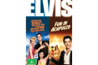 Elvis Girls Girls Girls / Fun in Acapulco DVD Region 4