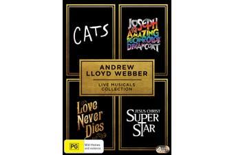 Andrew Lloyd Webber Live Musicals Collection Box Set DVD Region 4