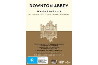 Downton Abbey The Complete Collection Box Set DVD Region 4