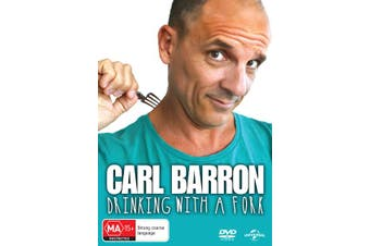 Carl Barron Drinking With a Fork DVD Region 4