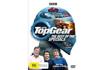 Top Gear The Best of the Specials DVD Region 4