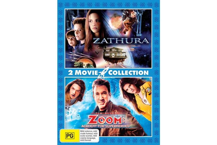 Zathura / Zoom Academy for Superheroes DVD Region 4