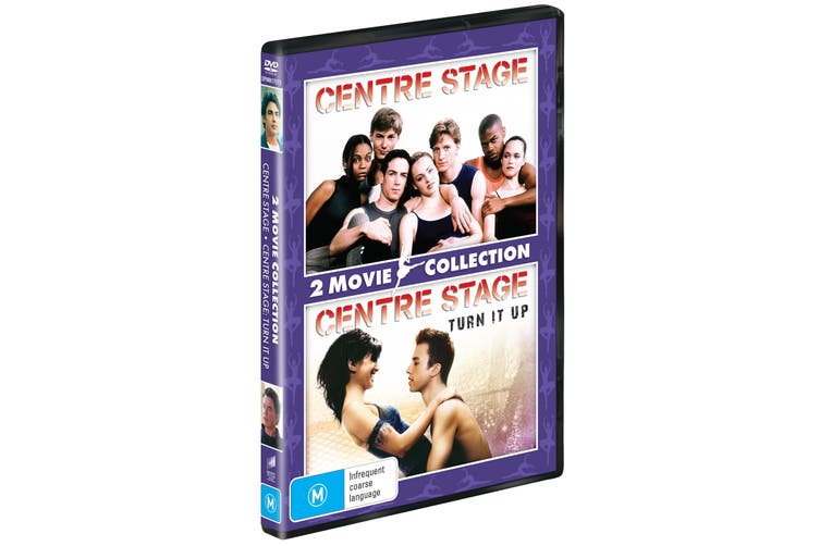 Centre Stage & Centre Stage II Turn It Up DVD Region 4
