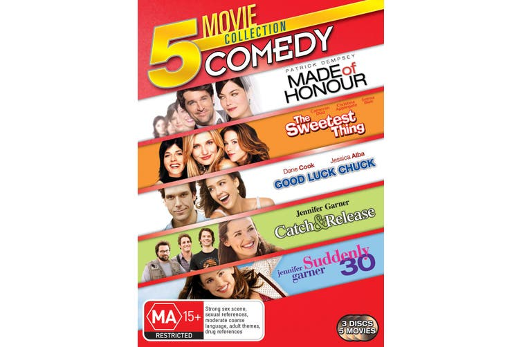 Made of Honour / The Sweetest Thing / Good Luck Chuck / DVD Region 4