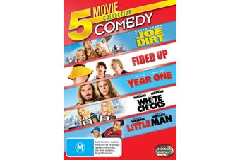 Joe Dirt / Fired Up / Year One / White Chicks / Little Man DVD Region 4