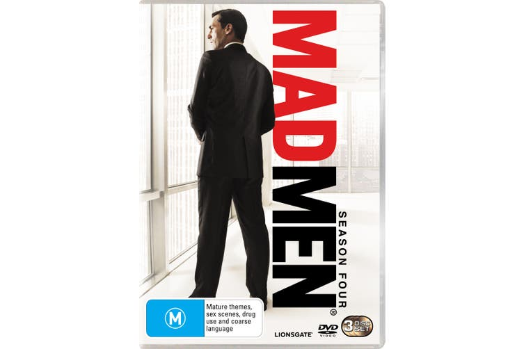 Mad Men Season 4 DVD Region 4