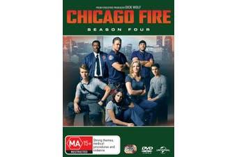 Chicago Fire Season 4 DVD Region 4