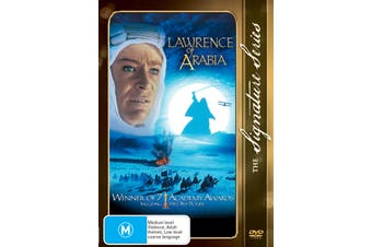 Lawrence of Arabia DVD Region 4