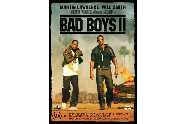 Bad Boys II DVD Region 4