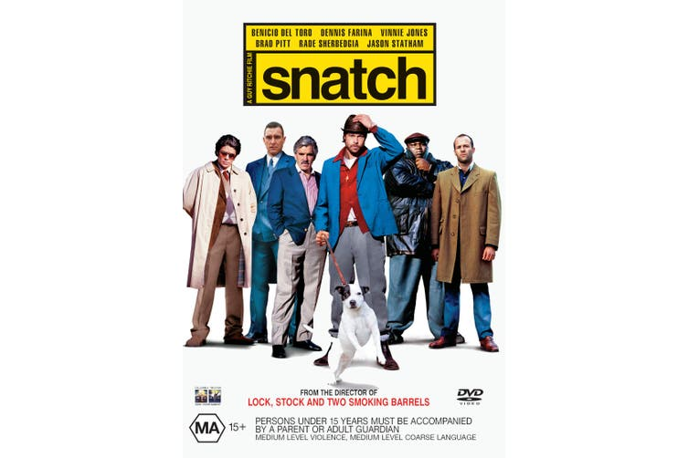 Snatch DVD Region 4