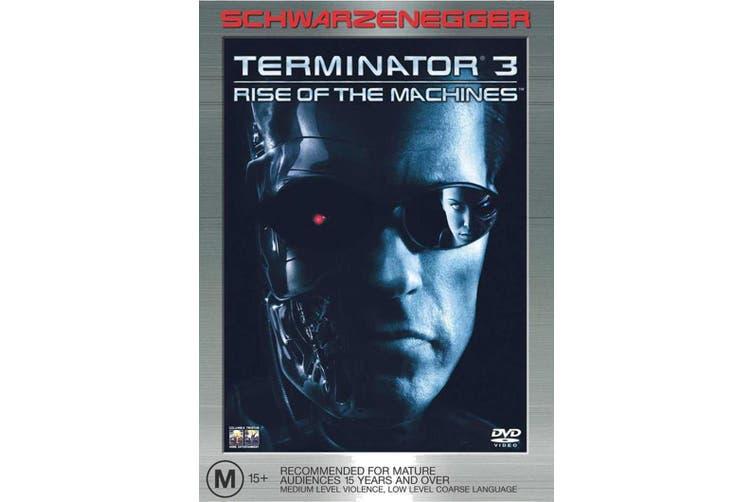 Terminator 3 Rise of the Machines DVD Region 4
