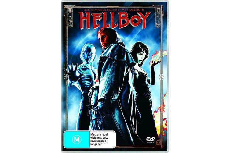 Hellboy DVD Region 4