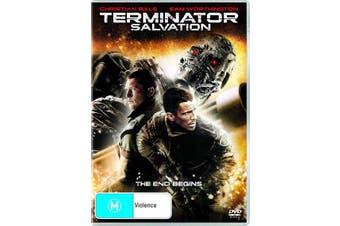 Terminator Salvation DVD Region 4