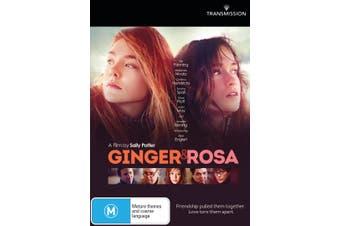 Ginger and Rosa DVD Region 4