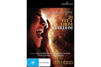 20 Feet from Stardom DVD Region 4