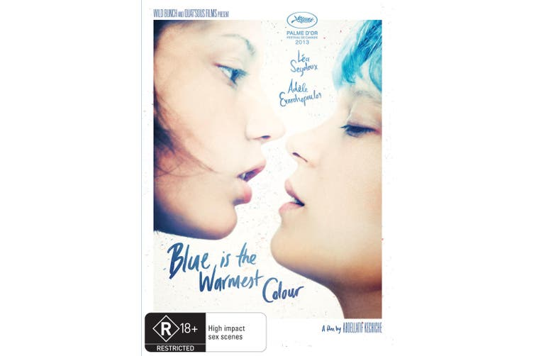 Blue Is the Warmest Colour DVD Region 4