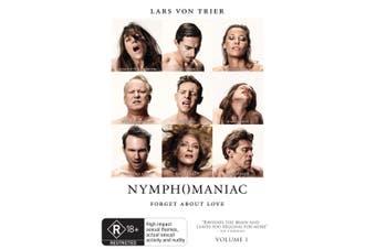 Nymphomaniac Volume I DVD Region 4