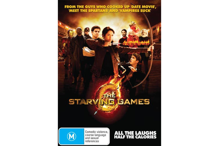 The Starving Games DVD Region 4
