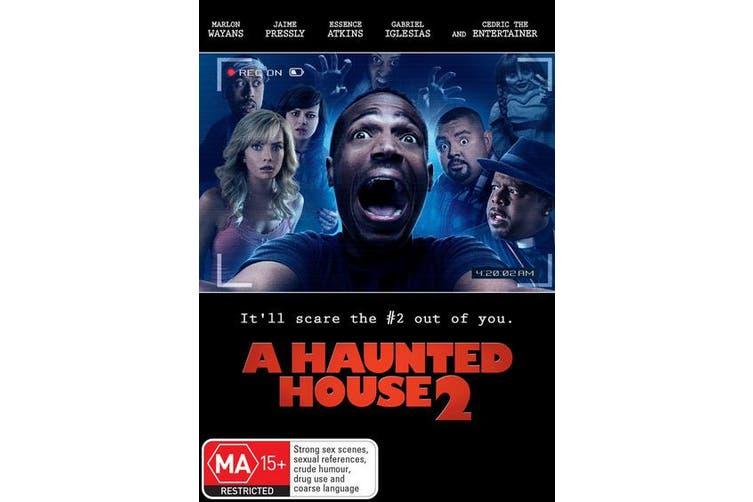 A Haunted House 2 DVD Region 4