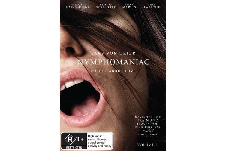 Nymphomaniac Volume II DVD Region 4
