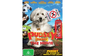 Pudsey the Dog The Movie DVD Region 4