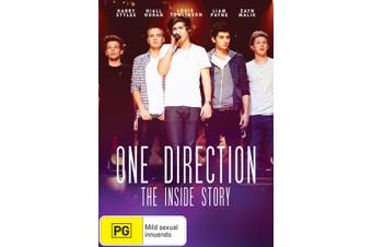 One Direction The Inside Story DVD Region 4