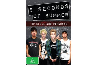 5 Seconds of Summer Up Close and Personal DVD Region 4