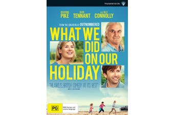 What We Did On Our Holiday DVD Region 4