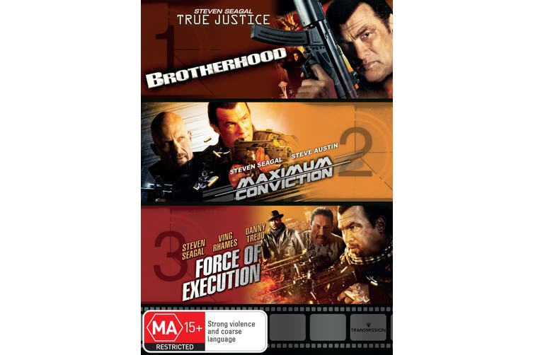 True Justice Brotherhood / Maximum Conviction / Force of Execution DVD Region 4
