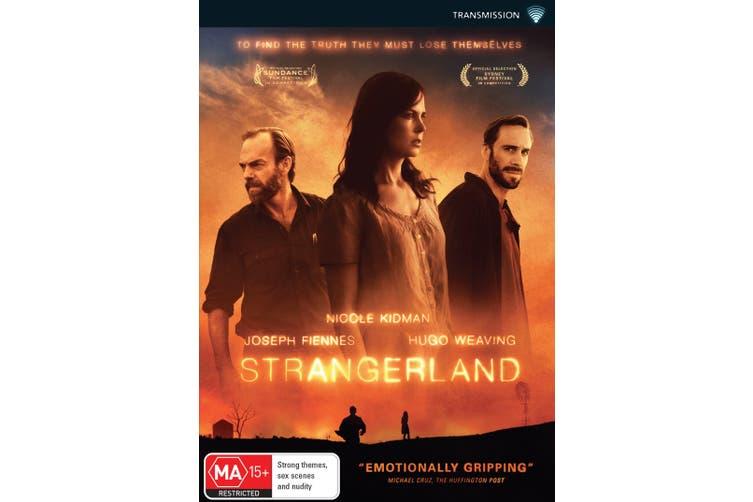 Strangerland DVD Region 4