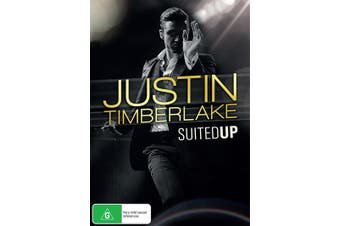 Justin Timberlake Suited Up DVD Region 4