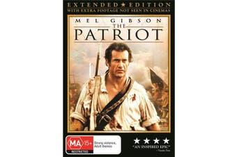 The Patriot DVD Region 4