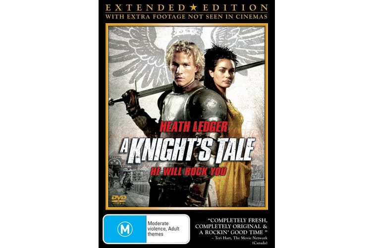 A Knights Tale DVD Region 4