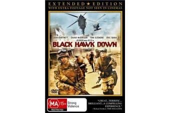 Black Hawk Down DVD Region 4