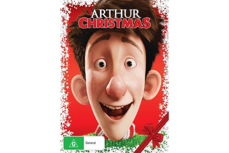 Arthur Christmas DVD Region 4