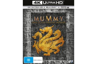 The Mummy Tomb of the Dragon Emperor 4K Ultra HD Blu-ray Digital UV Copy Blu-ray