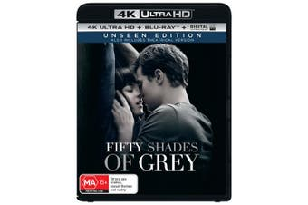 Fifty Shades of Grey 4K Ultra HD Blu-ray Digital UV Copy Blu-ray Region B