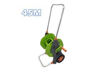 45M Wheeled Garden Hose Reel Cart