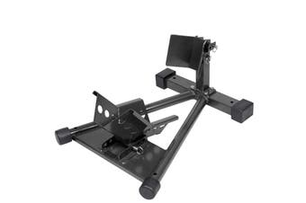 680kg Adjustable Motorcycle Front Wheel Chock & Trailer Stand