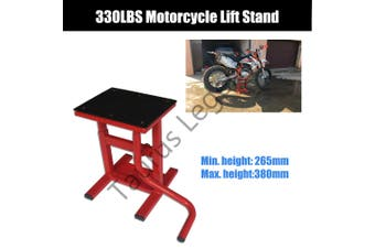 330LBS Motorcycle Lift Dirt Bike Stand Bench