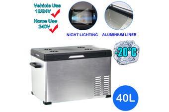 40L Portable Car Fridge Freezer