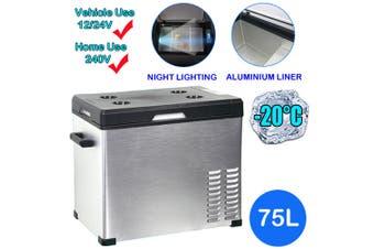75L Portable Car Fridge Freezer