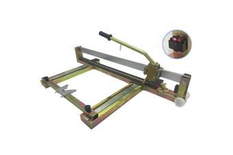 800mm Manual Tile Cutter - Laser Guide - Steel Construction