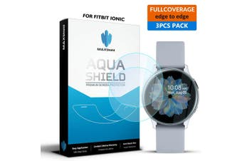 Maxshield Samsung Galaxy Watch Active 2 40mm Full Coverage WaterProof Screen Protector